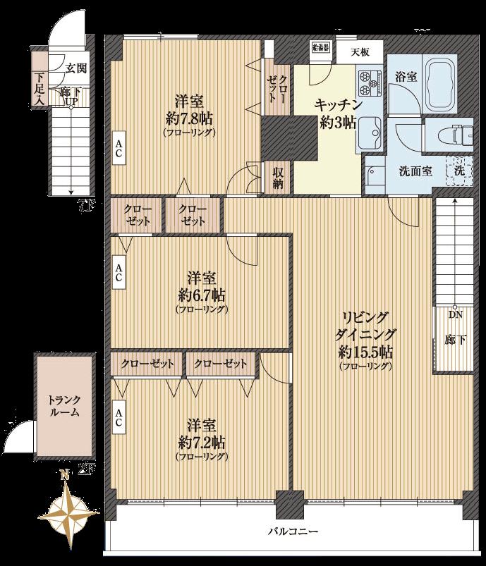 クレセントマンション804