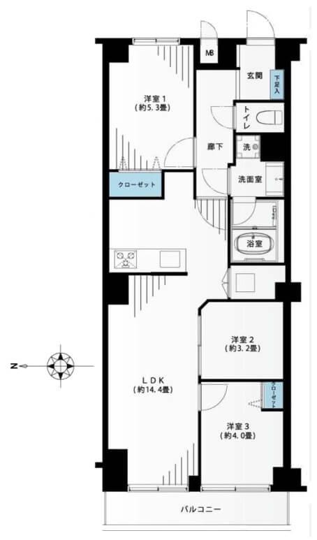 ワールドマンション東武練馬502