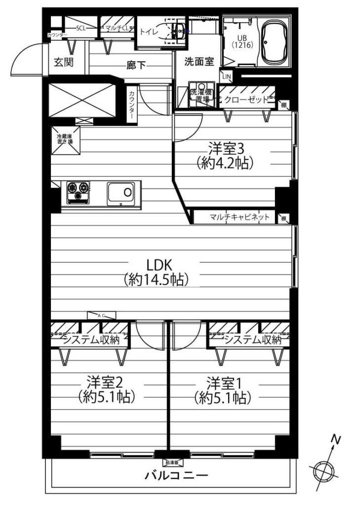 田園アカデミーマンション501