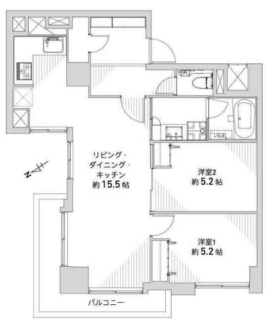 日商岩井恵比寿マンション206