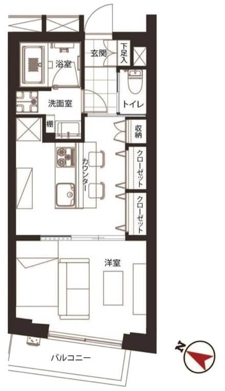 エスポワール渋谷松濤504