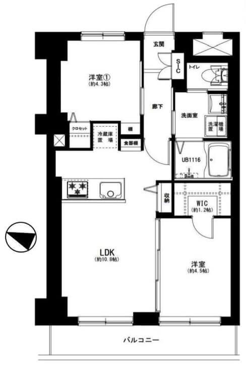 ライオンズマンション鉄砲洲第2_503