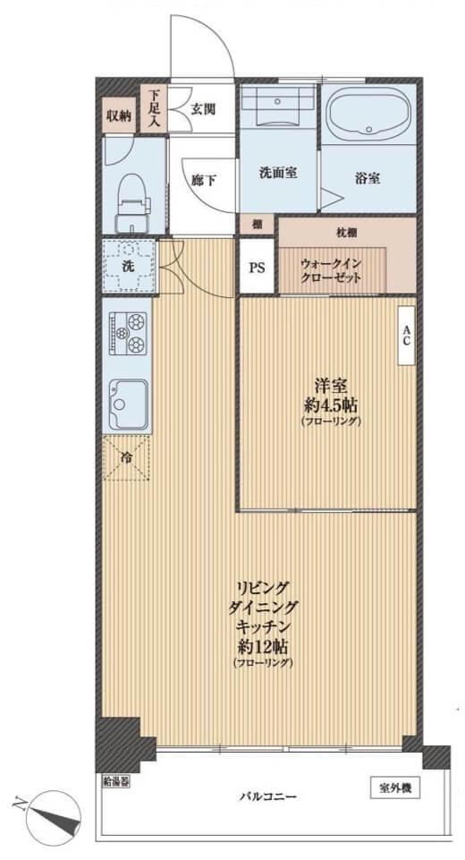 クレベール西新宿1004