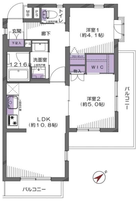 エクレール石神井公園206