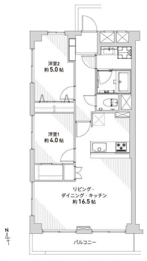 東北沢スカイマンションA号601