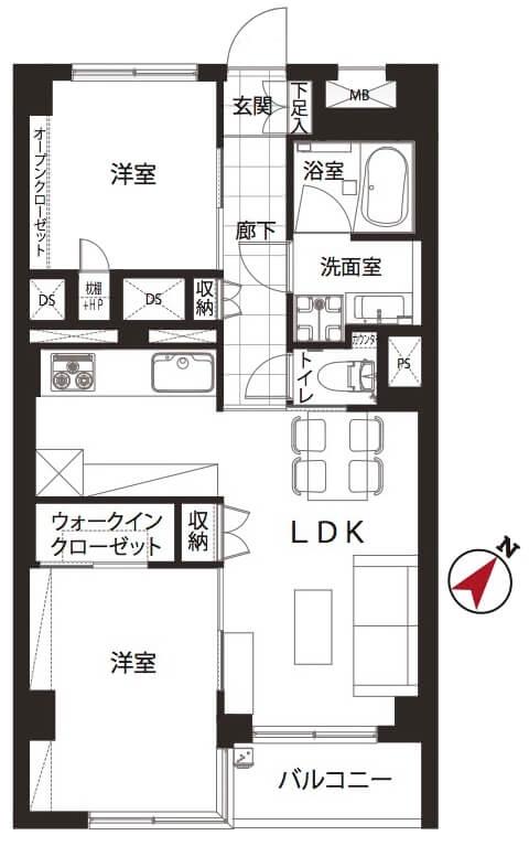 マンションニュー目黒311