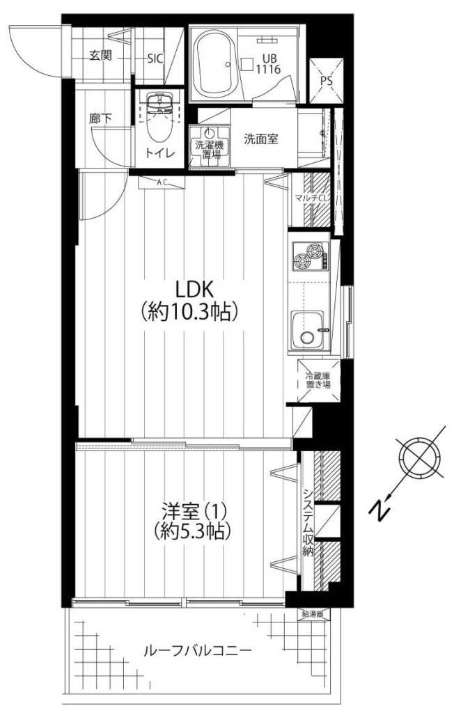 元赤坂マンション704