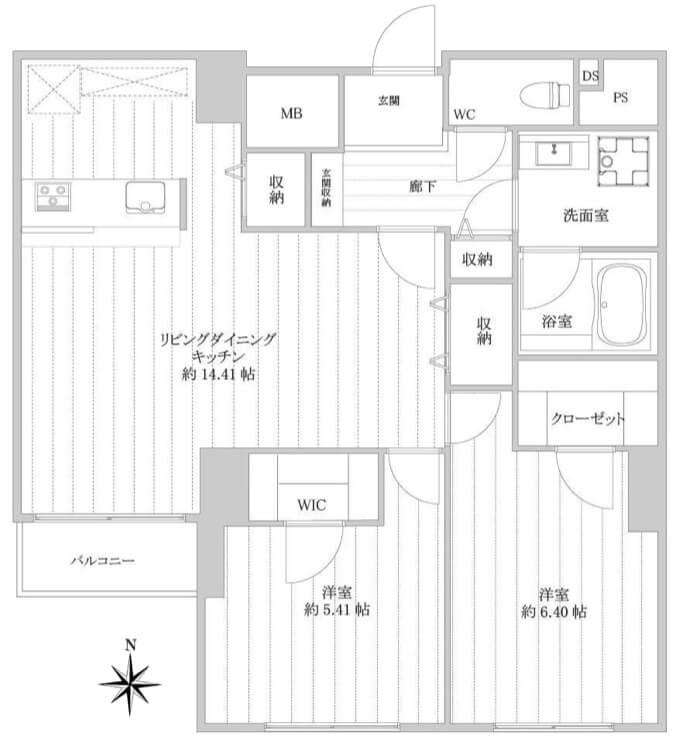 東池袋ハイツ壱番館1505