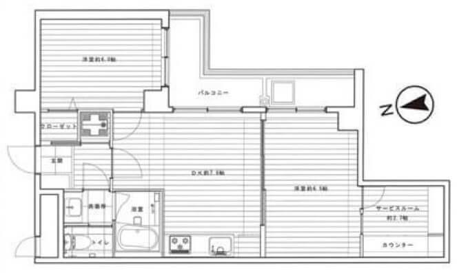 ライオンズマンション広尾第2_409