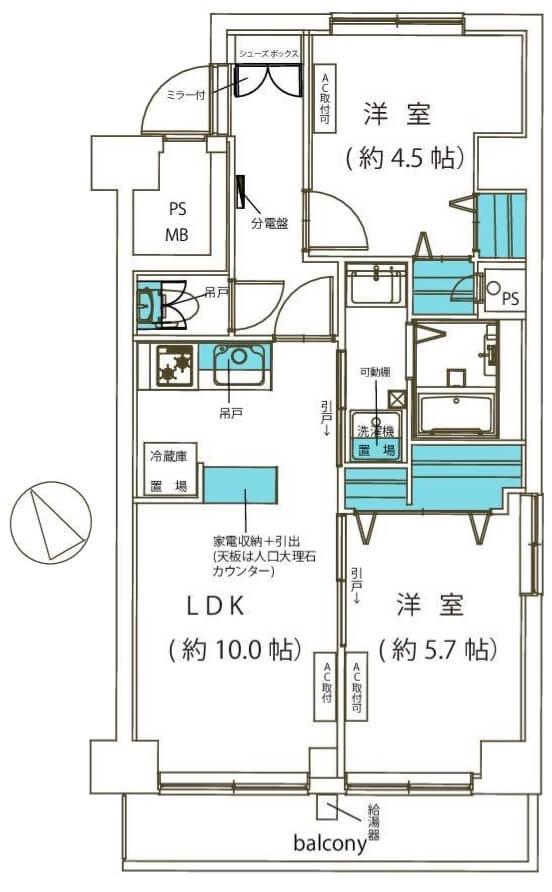 中銀京橋マンシオン704