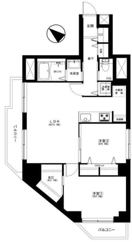 初穂マンションひがし京橋901