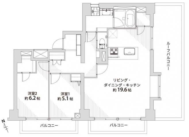 東山スカイマンション302