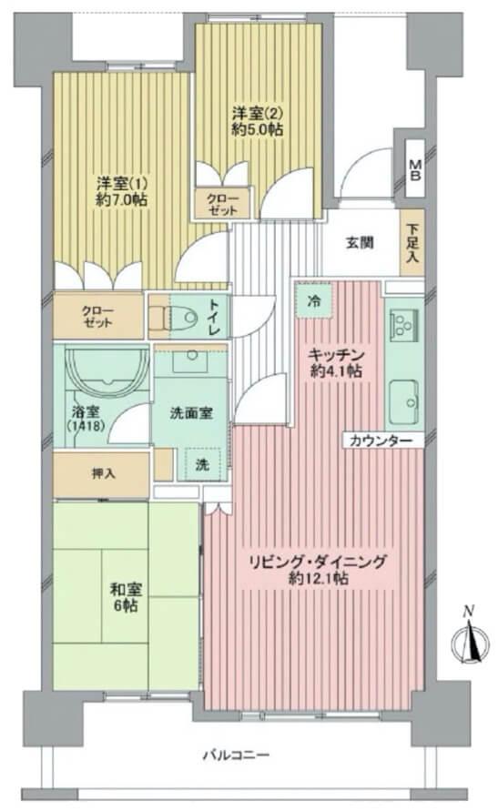 レクセルガーデン成増8F