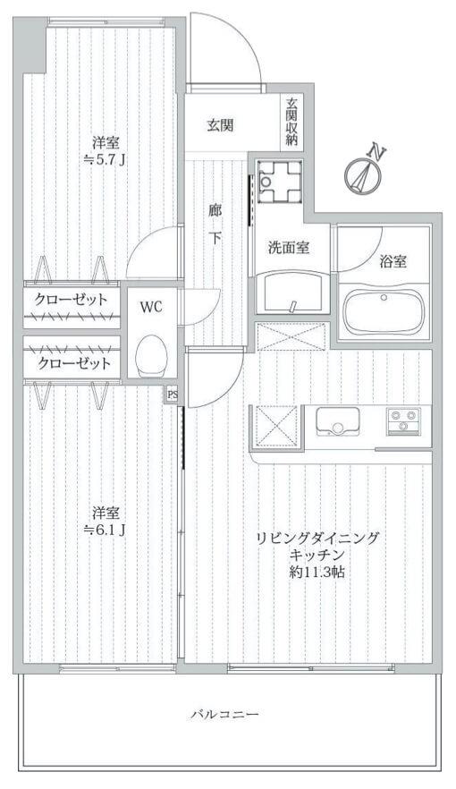 マイキャッスル新宿落合602