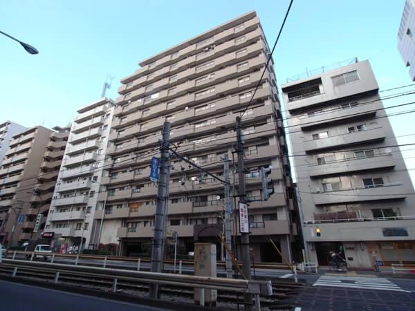 朝日シティパリオ西早稲田館