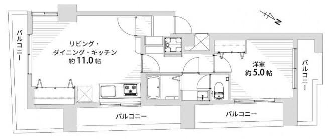 シティマンション新宿603