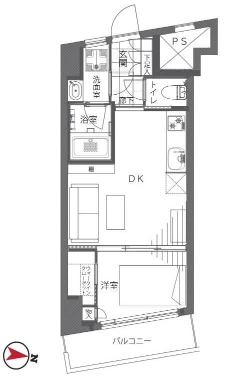 新宿パークサイド永谷207