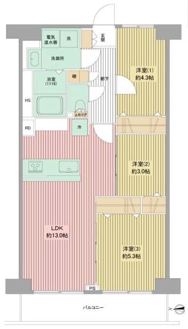 西新井スカイハイツ1F