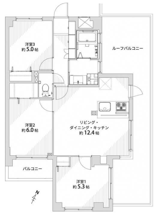 バームハイツ隅田公園404
