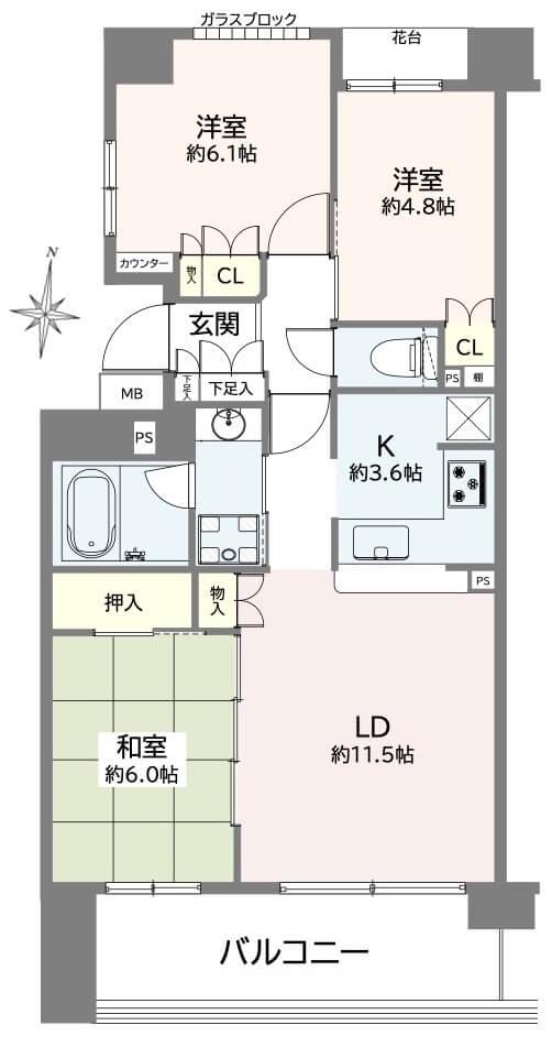 パークホームズ桜台502