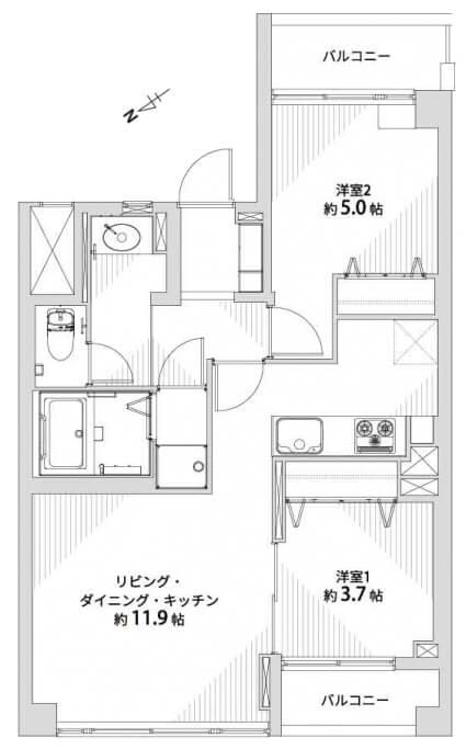 ライオンズマンション神楽坂1003