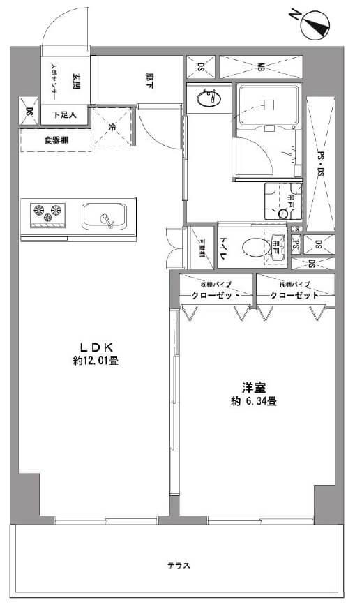 東建小石川マンション105