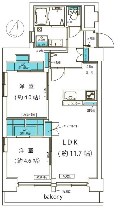 小島町永谷マンション202