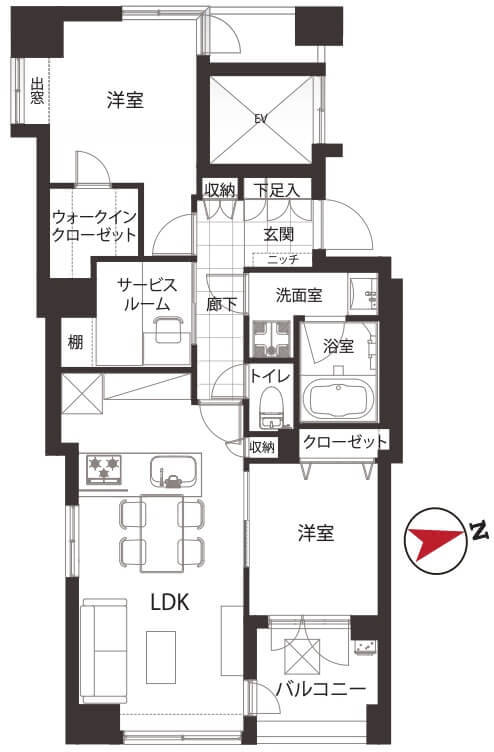 ダイナシティ中野新橋304