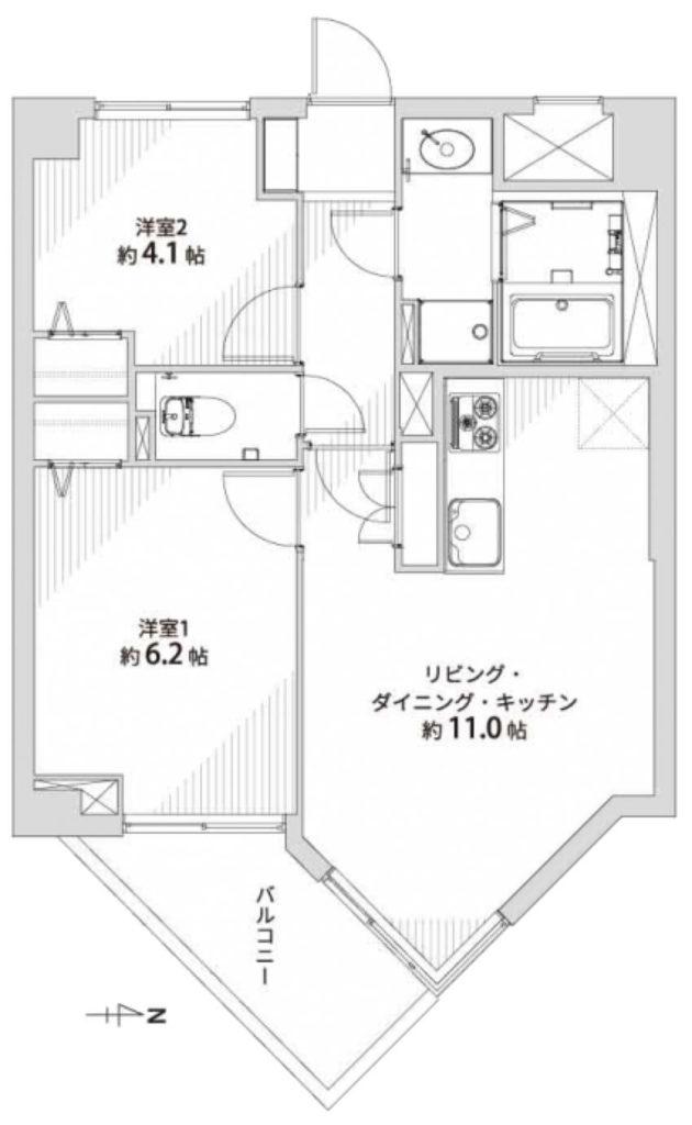 中村橋シティハウス701