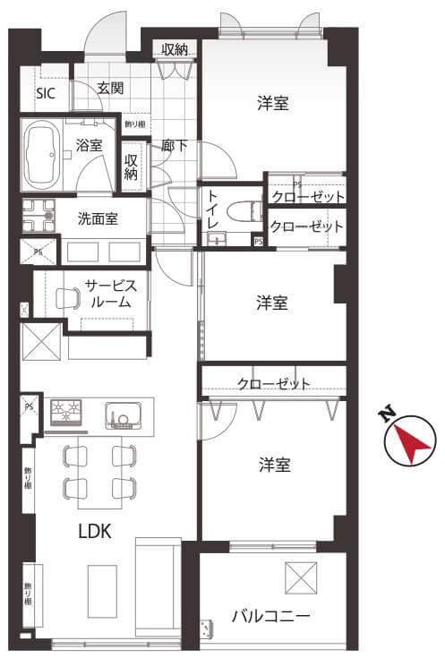 パークハウス駒込桜郷402