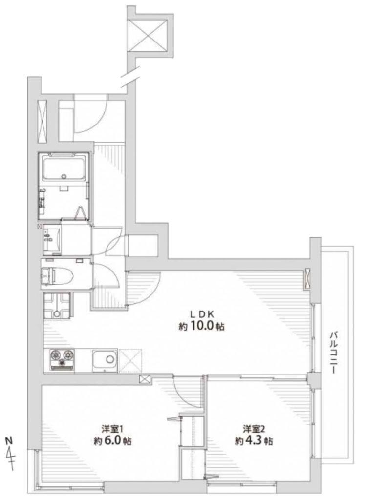 タウンハウス荻窪202