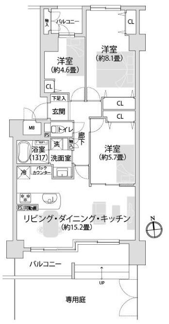 東急ドエル・アルス南砂サルーテ104
