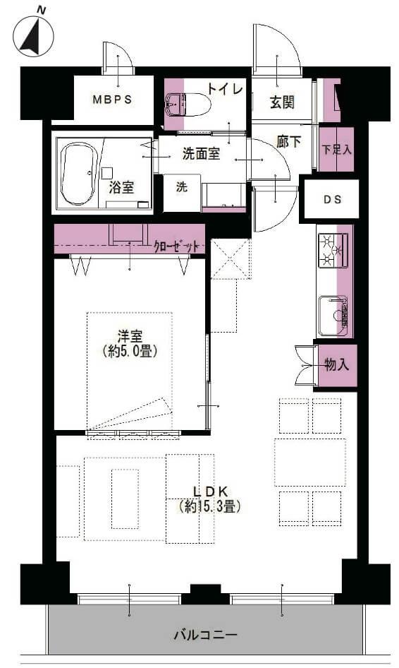 ライオンズマンション西五反田1105