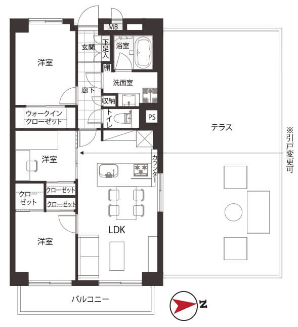 三井東陽ハイツ714