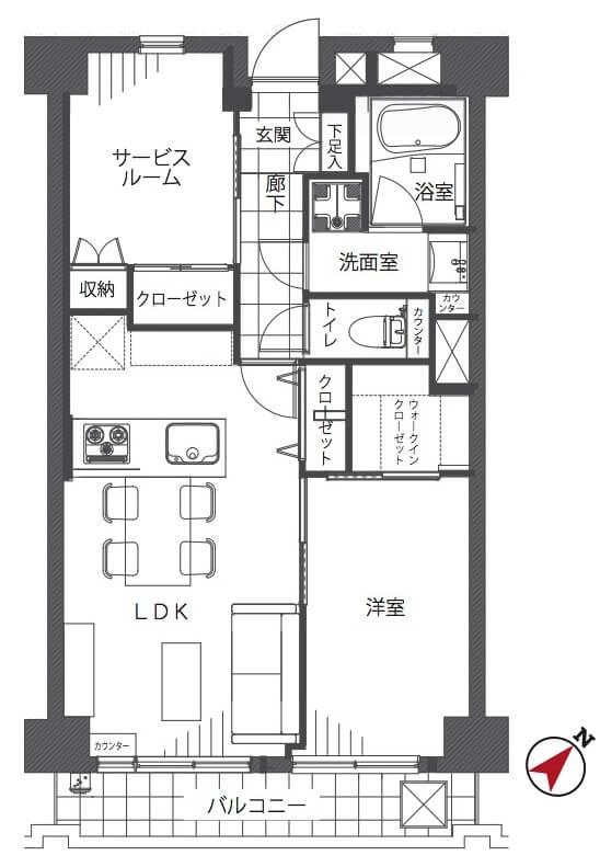 コンド瀬田303