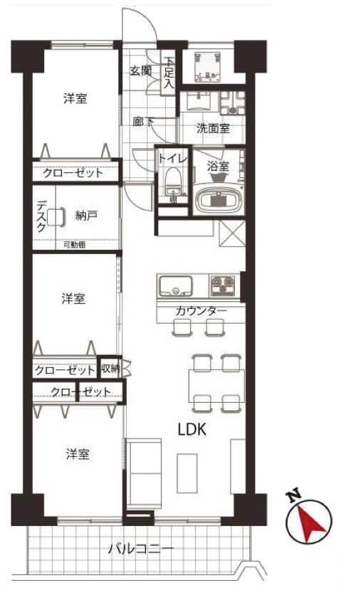 五反田ロイヤルハイツ1003