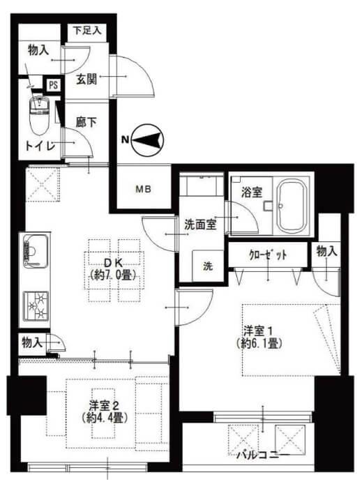 菊川ガーデンハウス804