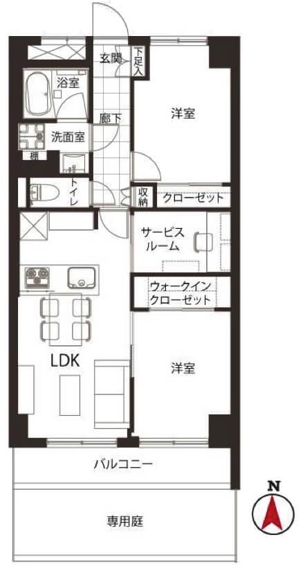 中銀木場マンシオン102
