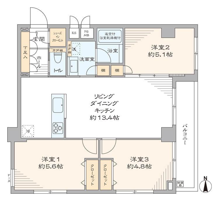 中銀木場マンシオン401