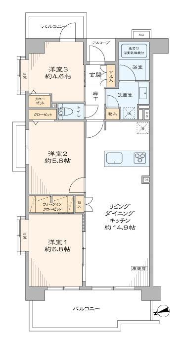フラッツ上野入谷南公園406