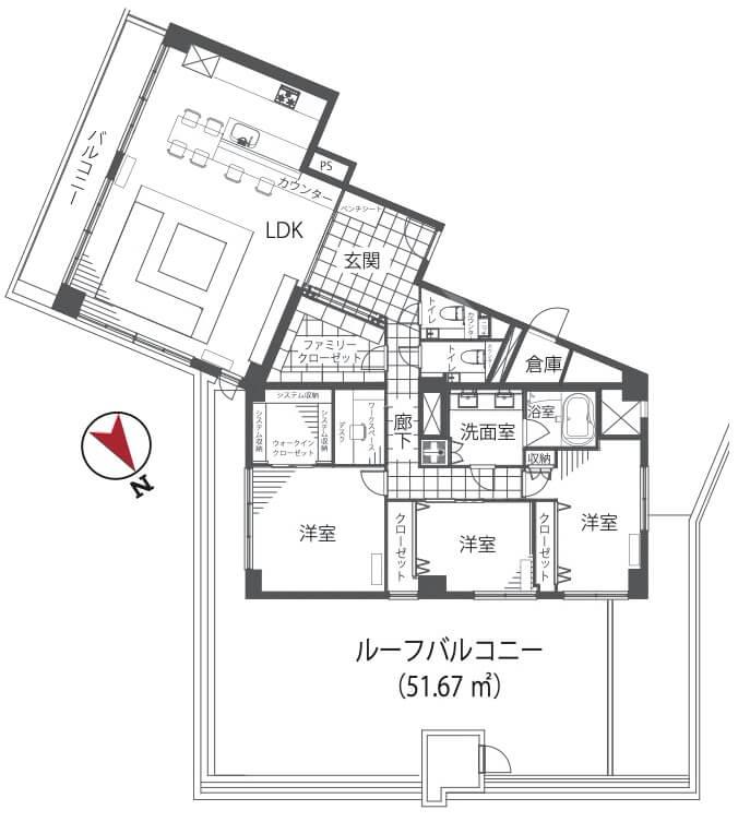 代官山マンション1202