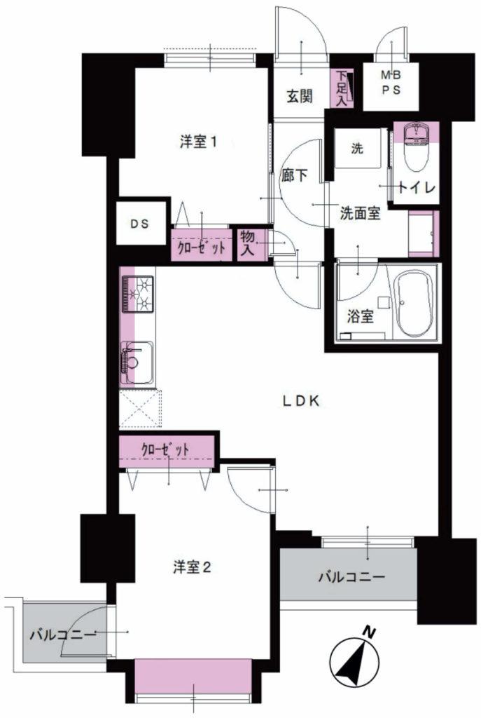 ライオンズマンション西五反田1002