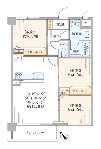 成増グリーンハイツ404