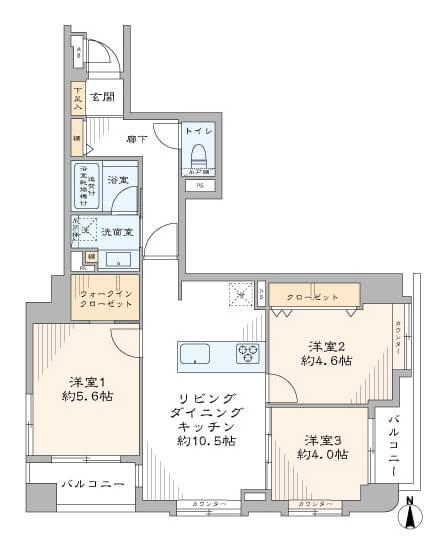 エクラン梅屋敷205