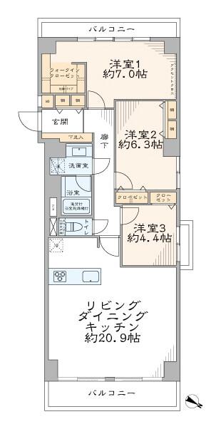 三井音羽ハイツ306