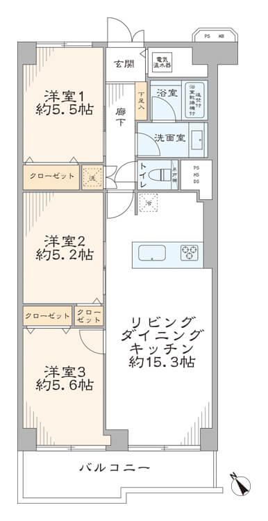 ローズハイツ仙台坂208