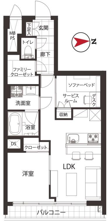 近鉄ハイツ新宿504