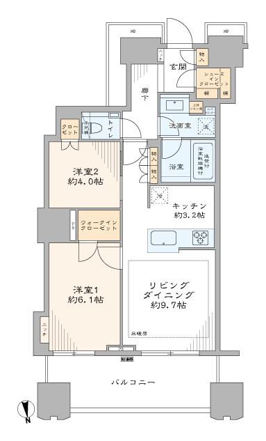 富久クロスコンフォートタワー3417