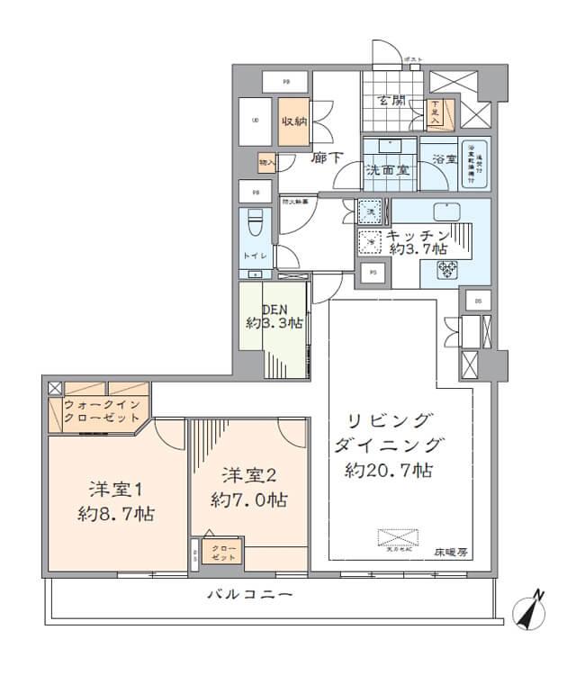 マノー乃木坂702