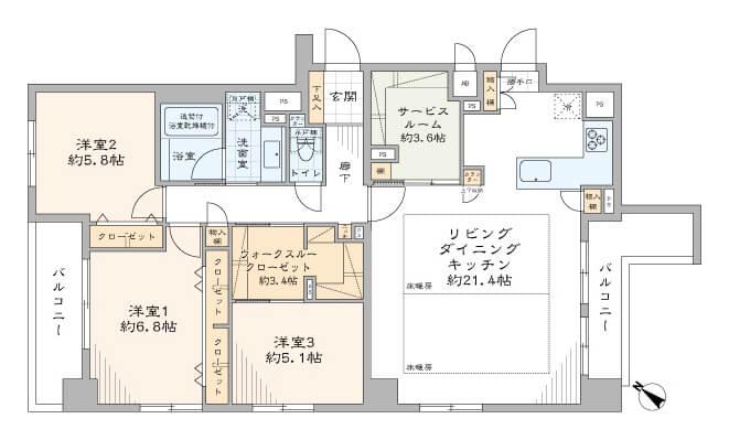 コンフィール日本橋アクアシティ804